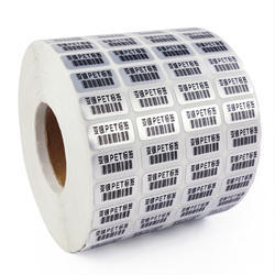 HHV Custom Made Barcode Label