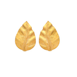 Another Leaf Design For Our Beautiful lovers Indianna Represent Earring Stud