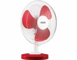 Usha Table Fan Mist Air Duos Red 400 mm