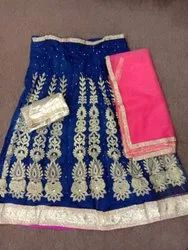 Fancy Net lehenga Choli