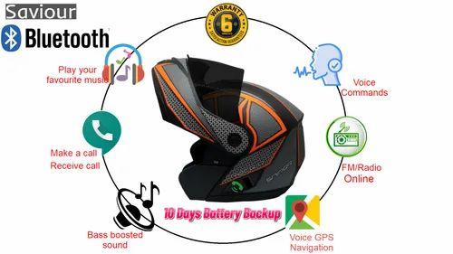 Bluetooth Helmet at Rs 1397/piece | Bluetooth helmet - M/s Aircomultitech,  Howrah | ID: 21848172855