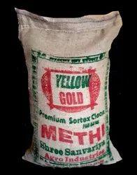 Venthayam (Methi) Yellow Gold 50 Kg Bag