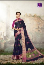 Shangrila Vanshika Silk Cotton Fancy Sarees