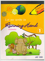 Let Me write in Running Hand Book 1 (Animals)