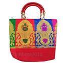 Ladies Cotton Handicraft Hand Bag