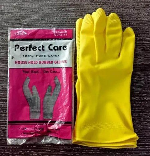 Unisex Rubber Household Gloves