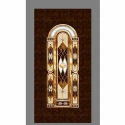 Brown Wooden Wood Residential Door