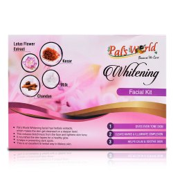 pal's world Herbal Whitening Facial Kit, For Face, Type Of Packaging: Box