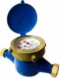 Single Jet Water Meter