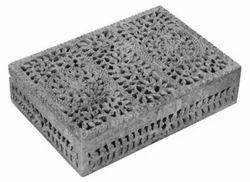 Soapstone Jaali Box