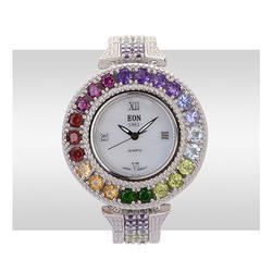 Mahesh Handicraft Men Gemstone Watch, For Personal Use