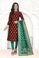 Banarasi Silk Dress-1