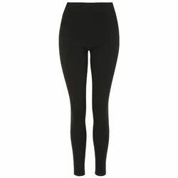 Black Ladies Casual Legging