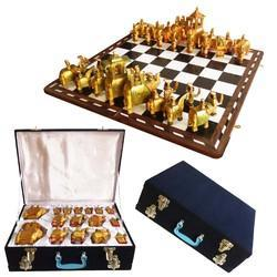 Wooden Chess With Board