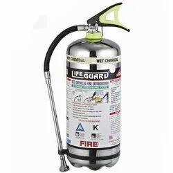LifeGuard Mild Steel Kitchen Fire Extinguisher, Capacity: 4Kg