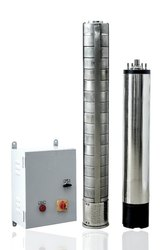 2 HP AC Premium Solar Submersible Borewell Pump With Controller