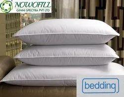 nofill白色竞选枕头,形状:矩形