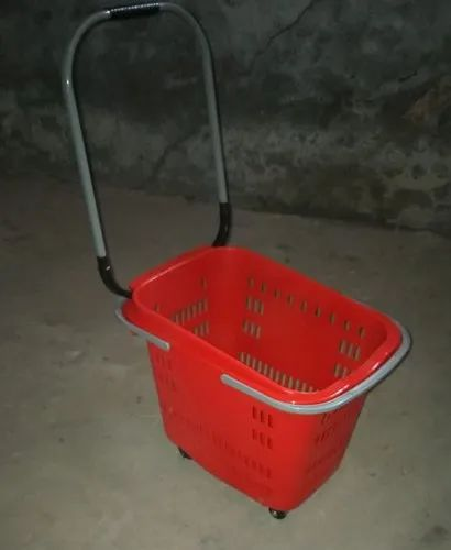 45Ltr 4 Wheeled Shopping  Basket