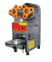 Semi Automatic Round Container Sealing Machine