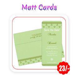 Multi Colors Wedding Cards Matt A5 Size 300 Gsm