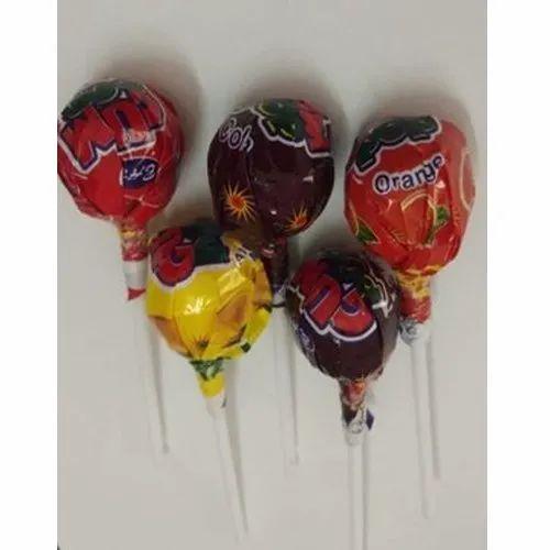 16 Gram Gum Pop Lollipop with Bubblegum