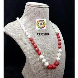 Graded Taiwan Shell Pearl Fashion Jewellery Beaded Necklace