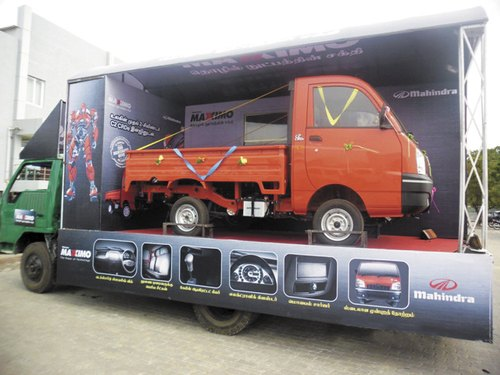 Eicher Canter Advertising Van Services