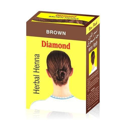 Diamond Brown Herbal Henna for Parlour