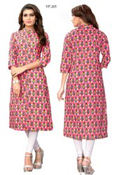 Regular Wear Slab Cotton Kurti