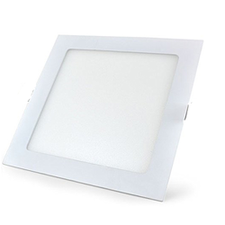 LED Edge Lit Square Panel Down Light - 12W