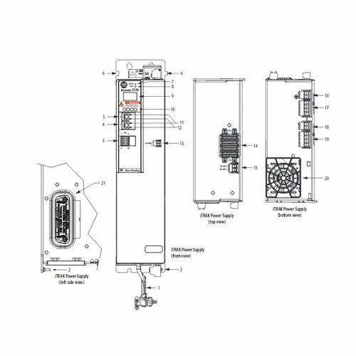 Allen Bradley 2198-P070 DC-Bus Power Supply Kinetix 5700