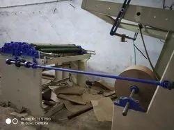 Semi Roll Feeding Paper Bag Making Machine