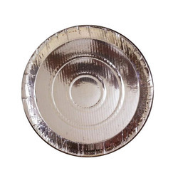 10 Inch Silver Foil Paper Plate  sc 1 st  IndiaMART & Plain 6 Inch Silver Foil Paper Plate Rs 10 /pack Veekshitha ...