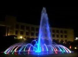 Angular Big Water Fountain
