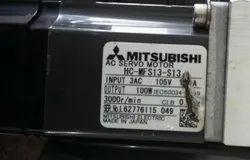 MITSUBISHI HC-MFS13-S13 AC Servo Motor, 105V
