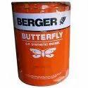 Berger Wood & Metal Oil Based Butterfly Enamel Paint, Packaging Type: Tin