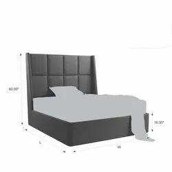 Grey Maxa Bed Base