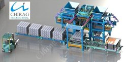 Chirag Automatic Fly Ash Brick Press Machine
