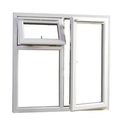 Sliding White UPVC Combination Windows