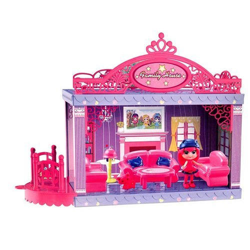 Family House Diy Doll House Toy