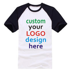 Printed Cotton Logo T-Shirt Printing
