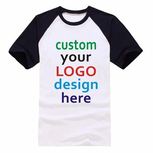 54932b0b66 Printed Cotton Logo T-Shirt Printing, Rolax Ties Manufacturing ...