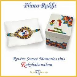 Rakhi for Kids with Photo