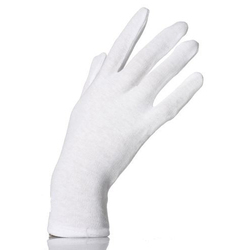 White Plain Hosiery Gloves