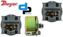 Dwyer 1823-00 Low Differential Pressure Switch Range