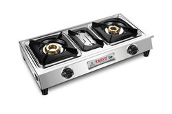 Double Burner Gas Stove SU-2B-203-MINI-GOLD