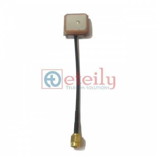 15X15 With Rg174 10 cm GPS Internal Antenna Cable SMA Male