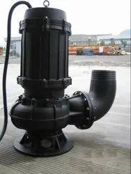 220v Single Phase Run-Dry Macerator Waste Pump, 2 - 5 HP