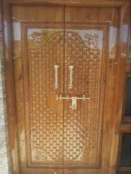 Teak Wood Front Door in Punjab