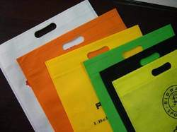 Multi Color Polypropylene Non Woven D Cut Bag, Capacity: 1 - 10 Kg